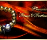 Phoenix & DragonFame and Fortune Bracelet- Charms and Crystal by Joy Lim